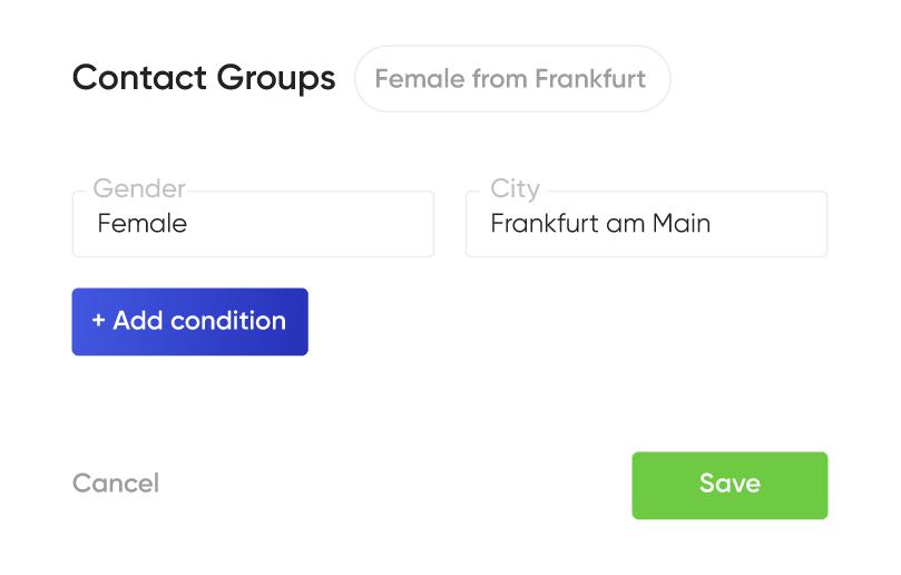 Automatic segmentation filters