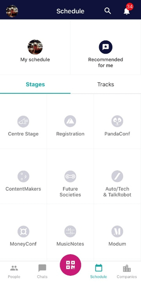 WebSummit2019 - Web Summit App