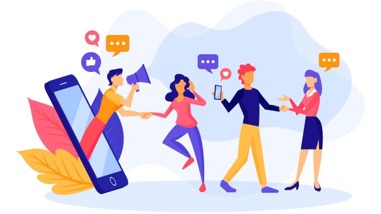 Kommunikation von Werbeaktionen an Kunden