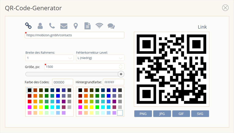 Einfacher QR-Code-Generator